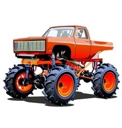 Cartoon Monster Truck vector