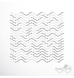 Flowing stripes abstract wave lines for use as vector