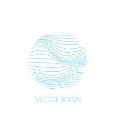 Gradient emblem vector