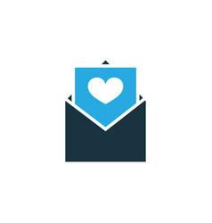 postcard colorful icon symbol premium quality vector image