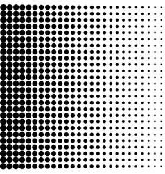 Vintage dots background halftone texture fade vector