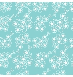 Vintage hand-drawn seamless pattern with vector image