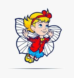 kid vector image