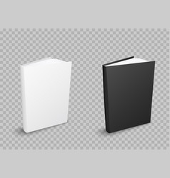 books on transparent background vector image