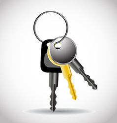 Collection of keys vector
