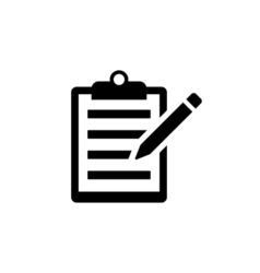 Note Icon Flat vector image vector image