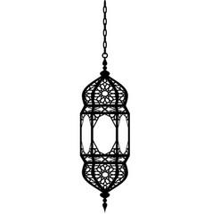 Arabian lantern vector