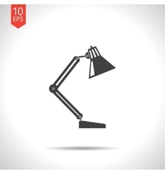 table-lamp icon Eps10 vector image vector image