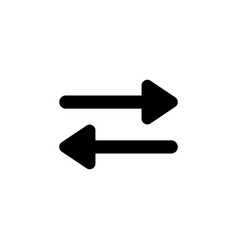 arrows direction icon signs and symbols can be vector image