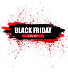 Black friday sale black web banner poster sale vector