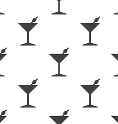 cocktail seamless pattern vector image