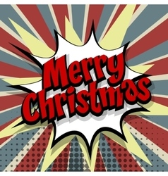 Merry Christmas colored background vector