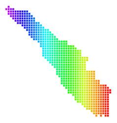Spectrum dot sumatra island map vector