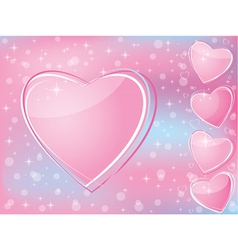 valentines day romantic vector image