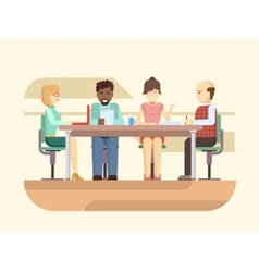 Business briefing vector image