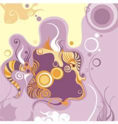 magical fish vector image vector image
