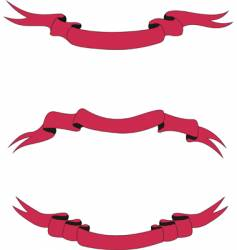 scarlet ribbons vector image