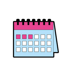 important calendar to remember special days vector image vector image