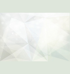abstract geometric white and gray with bokeh vector image