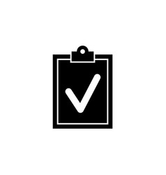 clipboard document icon signs and symbols can be vector image