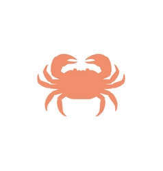 crab icon vector image