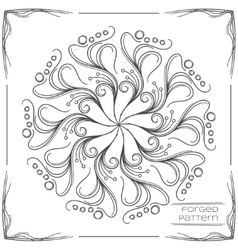 Forged Pattern Three vector