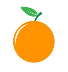 garden orangre icon vector image
