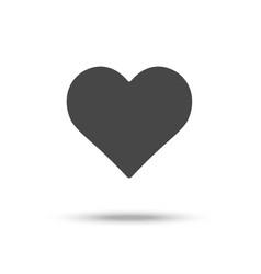 Heart icon love symbol eps10 pictogram vector