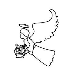 holy spiritual angel vector image
