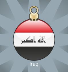 Iraq bulb vector image vector image