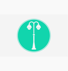 street light icon sign symbol vector image
