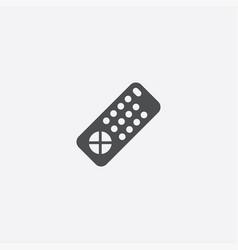 Tv remote icon vector