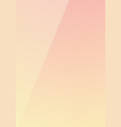 Vertical gradient pink to yellow mixed color vector