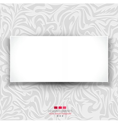 Gray delicate luxurious background vector image vector image