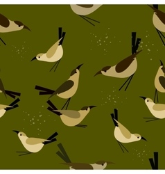 seamless pattern Bird vector image
