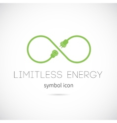 Limitless Energy Concept Symbol Icon vector image
