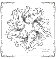 Forged Pattern Two vector