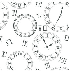Time background clocks vector