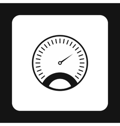 Car speedometer icon simple style vector image