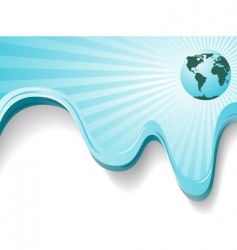 world background vector image vector image