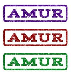 Amur watermark stamp vector