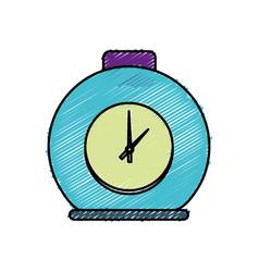 Clock icon image vector