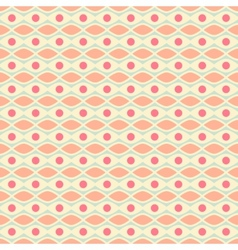 Feminine seamless pattern tiling Fond pink yellow vector image vector image