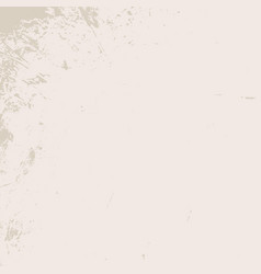 Grunge beige texture vector