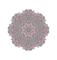 Mandala east ornament vector