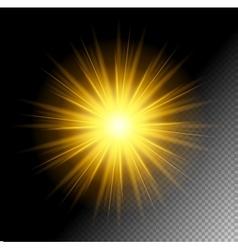 Transparent Shine Effect vector image
