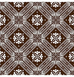 Ukrainian ethnic stitch pattern Ethnic ornament vector