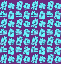 background of the gifts vector image
