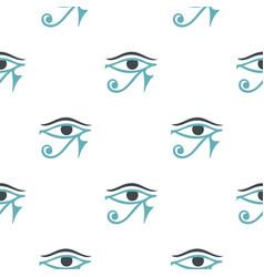 Eye of horus pattern seamless vector