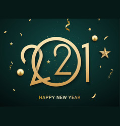 2021 new year happy chinese eve logo background vector image